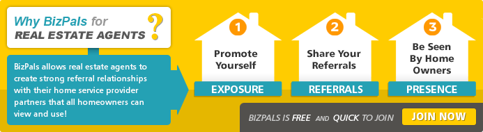 BizPals allows real estate agents to create strong relationships with their home service provider partners that all homeowners can view and use!